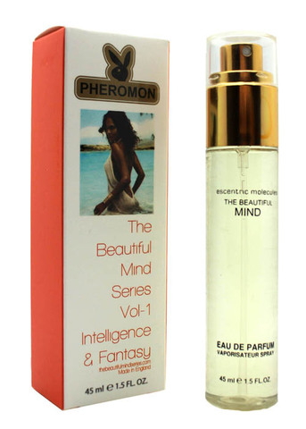 Парфюм с феромонами Escentric Molecules The Beautiful Mind Series Intelligence & Fantasy 45ml (у)