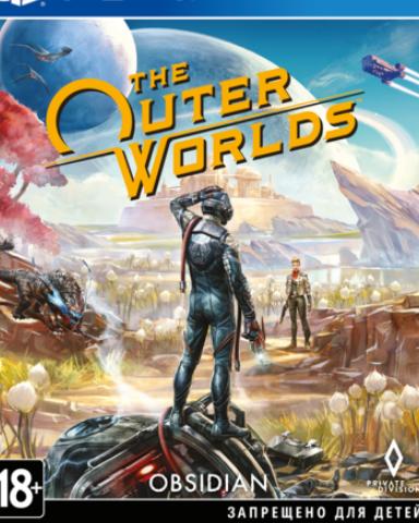Плакат игровой The Outer Worlds (А1)