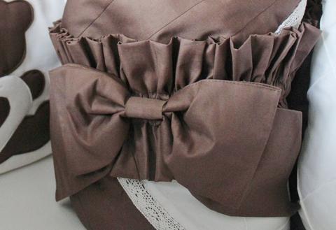 Одеяло - конверт на выписку, шоколад