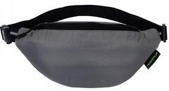 Поясная сумка для треккинга, походов и скандинавской ходьбы POWERUP GT - Grand Turizmo Gray
