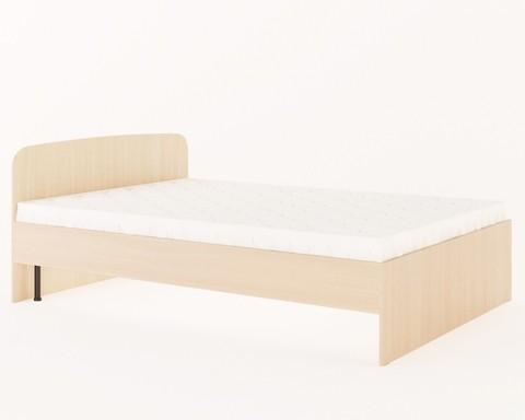 Кровать КР-03 дуб белёный