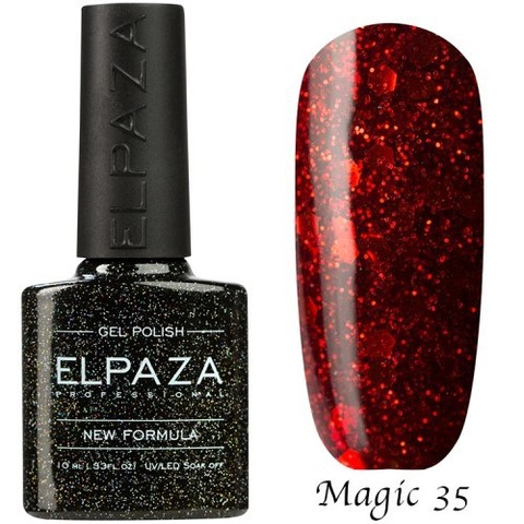 Гель лак Elpaza Magic,СТРАСТЬ 35