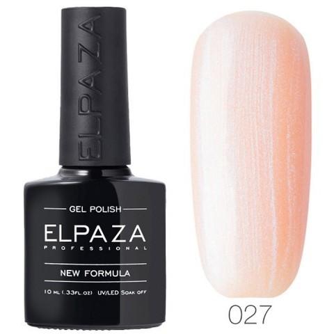 Гель лак Elpaza  027 Розовая жемчужина