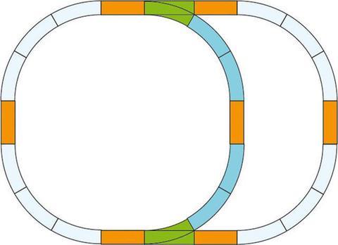 Piko 35302 Набор расширения пути, 1:22,5