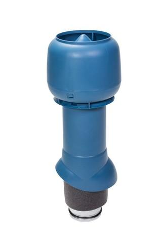 Вентиляционный выход 125 из 500 Vilpe синий