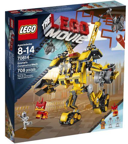 LEGO Movie: Робот-конструктор Эммета 70814 — Emmet's Construct - o - Mech — Лего Фильм Муви
