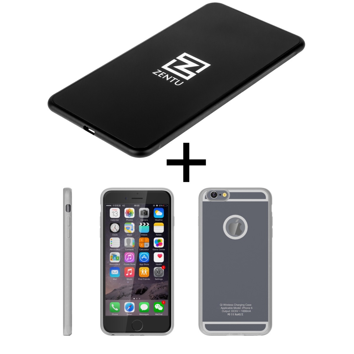 Архив Комплект для iphone 6/6s: беспроводная зарядка Zentu S7 black + ресивер на выбор case_zentu.jpg