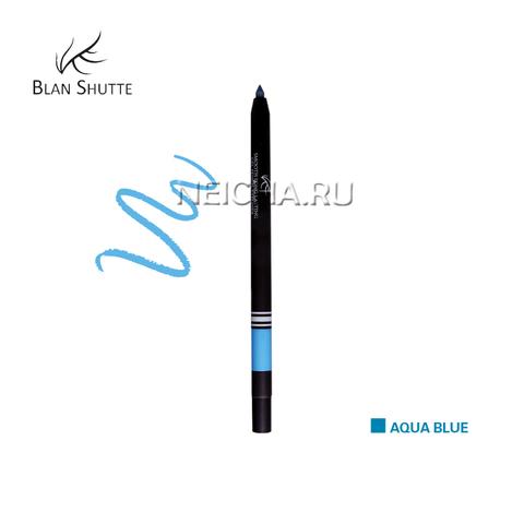 Стойкий гель-карандаш для глаз BS PEARL AQUA BLUE