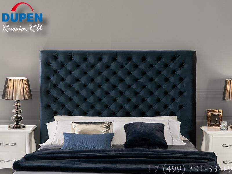 Кровать Dupen (Дюпен) 637 LEONOR синяя