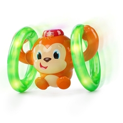 Bright Starts Музыкальная обезьянка на кольцах (52181)
