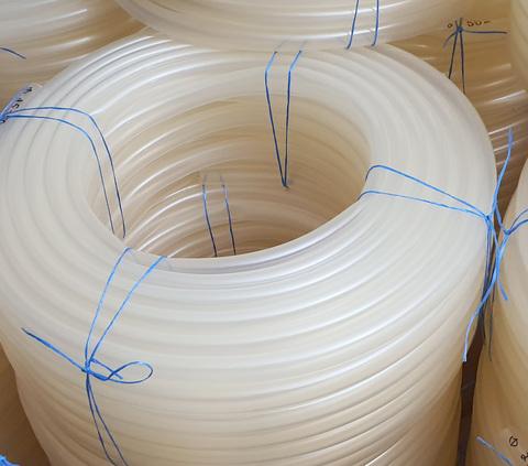 Шланг Ø 16 мм толщина стенки 3 мм прозрачный силиконовый (25 м в бухте)