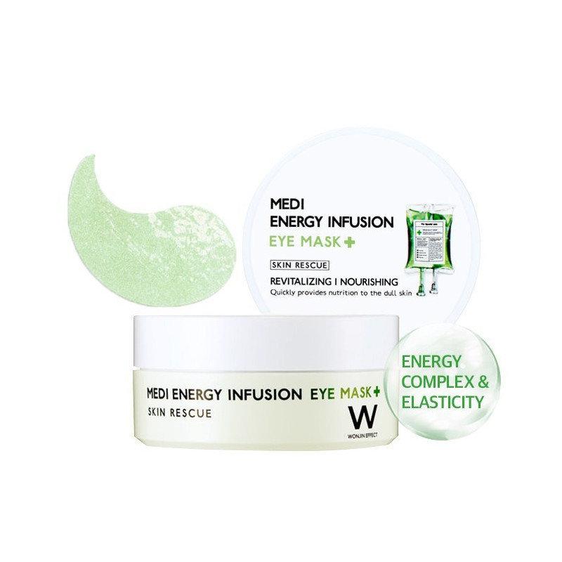 Патчи Wonjin Medi Energy Infusion Eye Mask