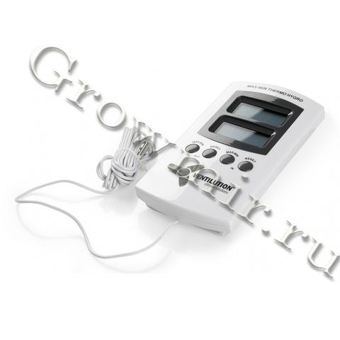 Цифровой Hygrothermometer (две точки измерения) с памятью