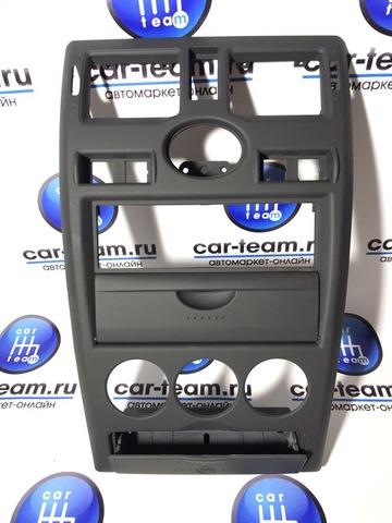 Центральная консоль 1 DIN на Лада Приора 1, бархат