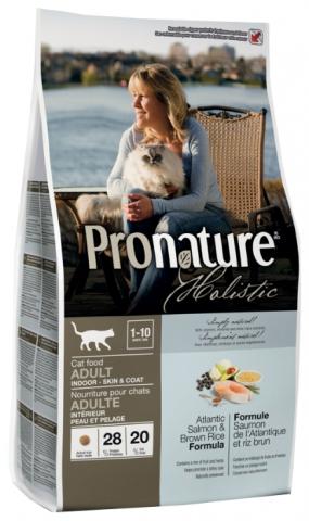 Pronature Корм для взрослых кошек, Pronature Holistic, для кожи и шерсти, с лососем и рисом Pronature_Holistic_для_взрослых_кошек__Для_кожи_и_шерсти__лосось_с_рисом.jpg