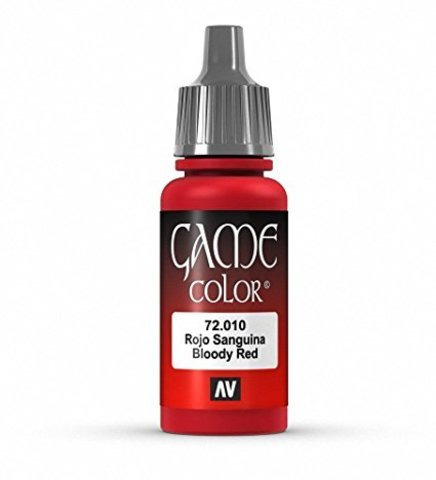 Game Color Bloody Red 17 ml.