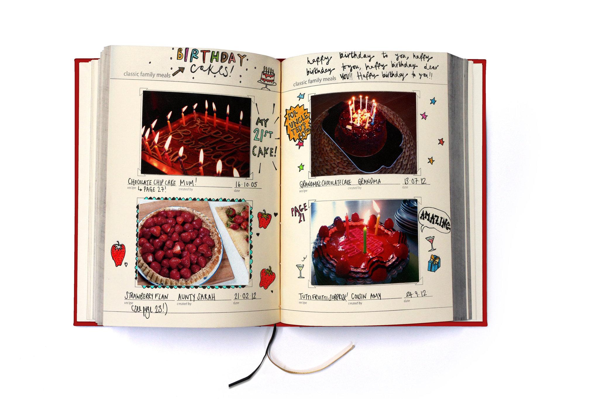 Семейная кулинарная книга-блокнот для записи рецептов My Family красная Suck UK SK MYRECIPES1 | Купить в Москве, СПб и с доставкой по всей России | Интернет магазин www.Kitchen-Devices.ru