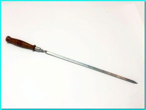 Шампур шашлычный с деревянной ручкой