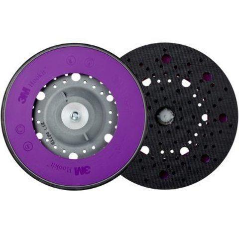 3М Оправка Hookit™ с мультипылеотводом универсальная , мягкая, М8 Festo/L3, 150мм