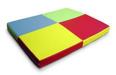 Мат гимнастический Разноцветный