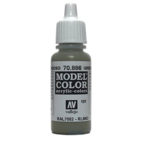 Model Color Green Grey 17 ml.