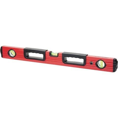 Уровень алюминиевый, 1200 мм, фрезерованный, 3 глазка, две эргономичные ручки Matrix