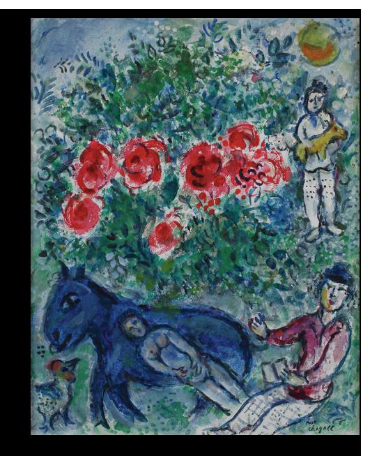 """Марк Шагал Репродукция """"Шагал - Лошадь"""" Х85__1_.png"""