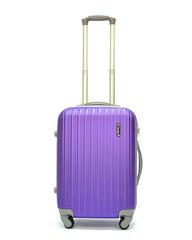 Чемодан Ananda пластиковый APL-833 Фиолетовый Ручная кладь (S)