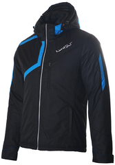 Утеплённая прогулочная лыжная куртка Nordski Premium black-blue мужская