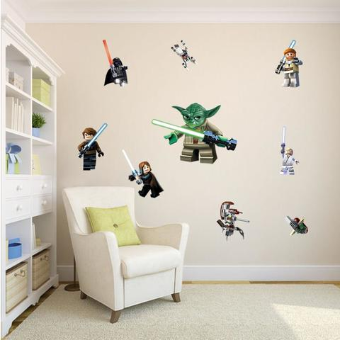 Wall Sticker Wallpaper 3D Art — Minifigure