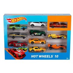 Hot Wheels Автомобиль базовый 10 шт.