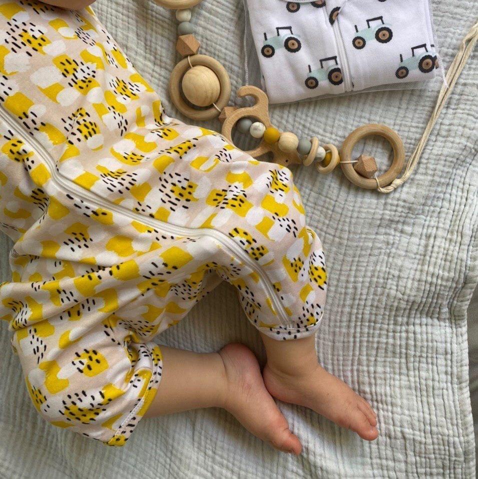 Песочник Mjölk Sleep and Play Mustard Spots