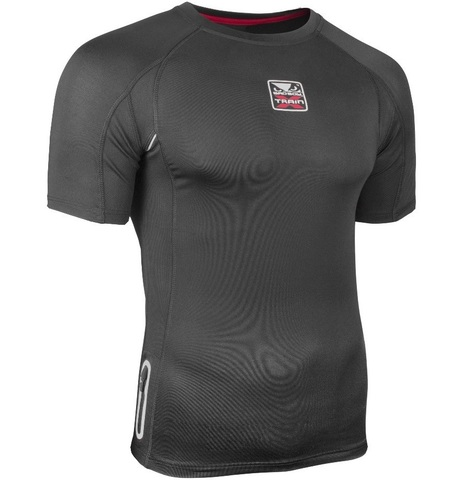 Рашгард Bad Boy X-Train Compression T-shirt Short Sleeves - Black