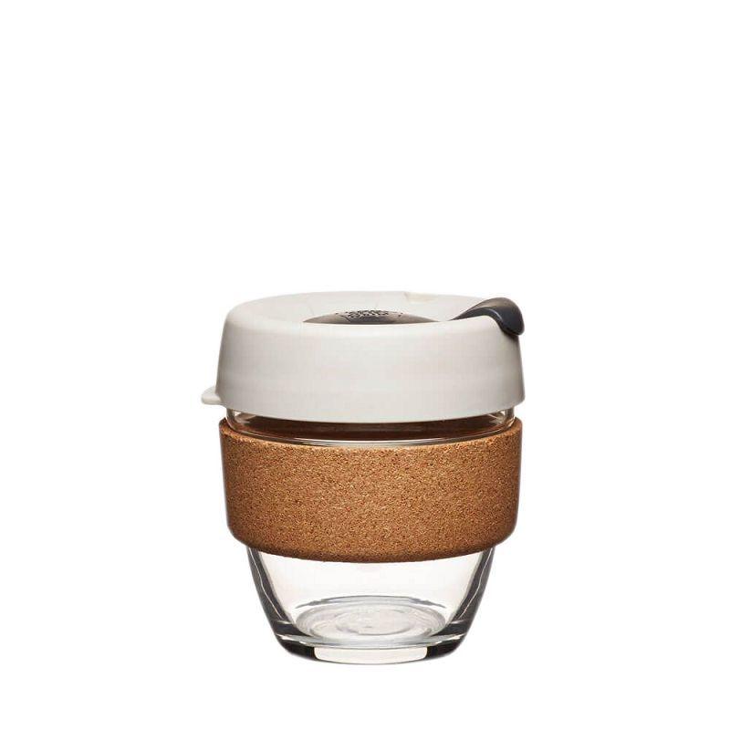 Кружка стеклянная KeepCup Brew - Cork Edition 8oz (225мл) Filter