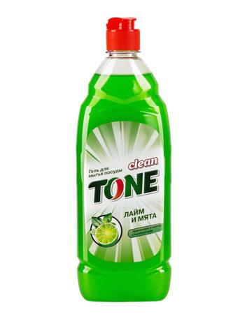 Sellwin Pro Clean Tone Гель для мытья посуды Лайм и мята 675мл