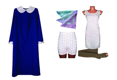 Комплект женской ритуальной одежды