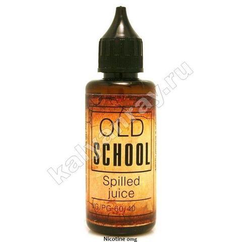 Жидкость OLD SCHOOL - Spilled Juice 0% никотина