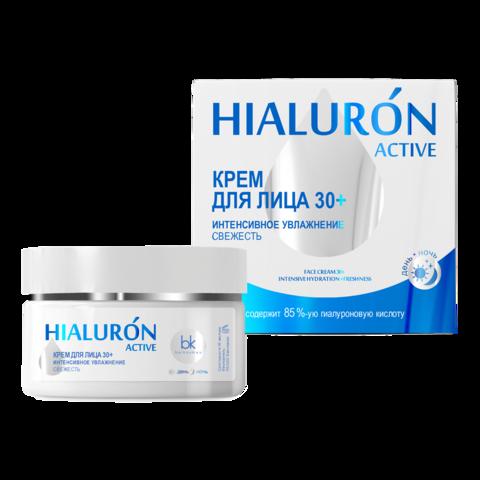 BelKosmex Hialuron Active Крем для лица Интенсивное увлажнение Свежесть 30+ 48г