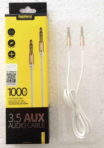 Кабель ReMax 3.5 AUX audio cable 1м RL-L100