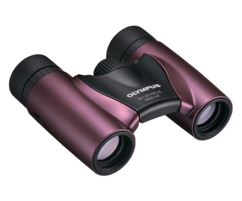 Бинокль Olympus 8x21 RC II, пурпурный