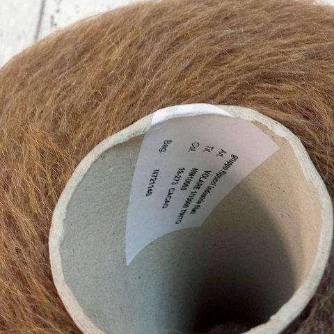 Кидмохер с альпакой GRUPPO FILPUCCI  / VOLARE 1000 светло-коричневый