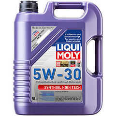 9077 LiquiMoly Синт.мот.масло Synthoil High Tech  5W-30 SM/CF;C3 (5л)