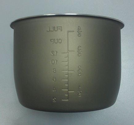 Чаша (кастрюля) (емкость) VES 6LC для мультиварки скороварки коптилки с функцией копчения высота 160 мм 16 см
