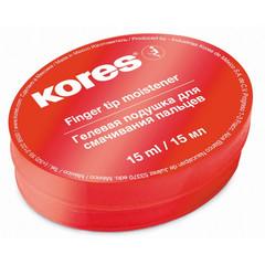 Подушка для смачивания пальцев гелевая Kores 15 мл