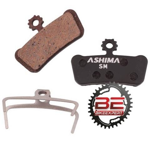 Колодки Ashima для Avid X0 Trail 4 Semimetal