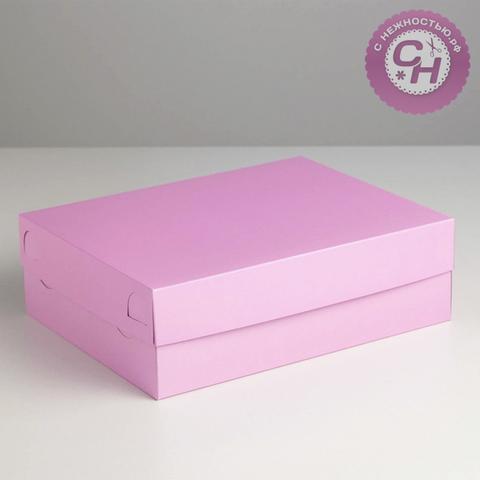 Коробка прямоугольная самосборная, 32,5 х 25,5 х 10 см, 1 шт.
