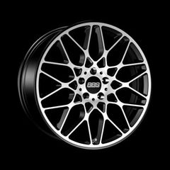 Диск колесный BBS RX-R 9.5x19 5x112 ET40 CB82.0 satin black/diamond cut
