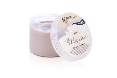 Крем-скраб для умывания ШОКОЛАДНАЯ НУГА очищение, антиоксидантная защита, 160g TM ChocoLatte