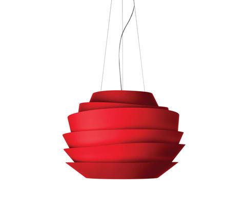 Подвесной светильник копия Le Soleil by Foscarini (красный)