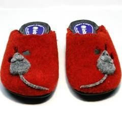 Уютные комнатные тапочки женские Inblu NC- 1B Mouse Rad
